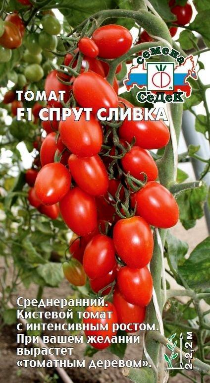 Томат Спрут Сливка