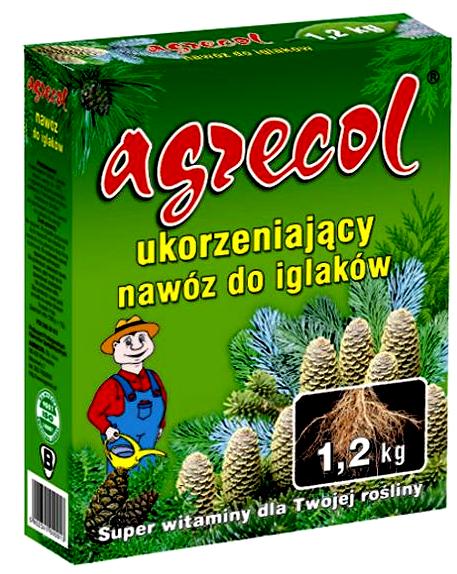 Agrecol для корневой системы хвойных и других декоративных деревьев и кустов 1,2 кг