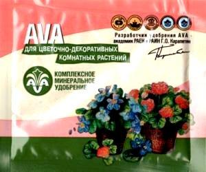 Ава цветочное 30г