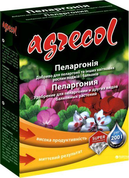 Agrecol для пеларгоний 0.2 кг